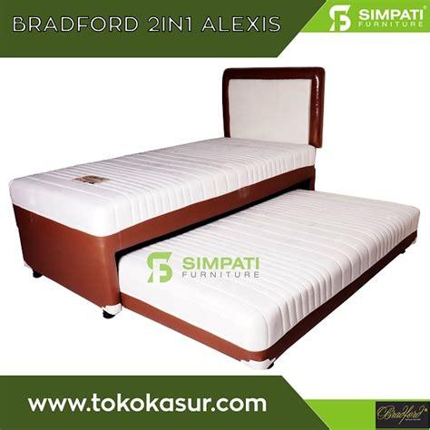 Kasur Bed 2in1 Duo 120x200 bradford bed murah kasur murah simpati