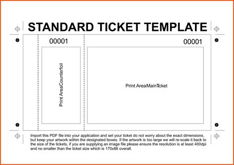 Pin By Becky Preston On Things I Want To Make Pinterest Ticket Template Ticket Template Raffle Ticket Printing Template