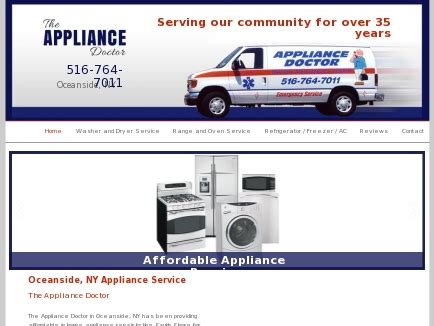 appliance doctor appliance repairs oceanside ny