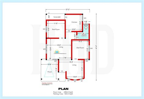 kerala house plans 1000 square foot single floor 2 bedroom house plans kerala style 1200 sq beautiful