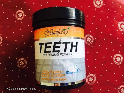 Pemutih Gigi Nucifera cara memutihkan gigi menggunakan nucifera teeth whitening