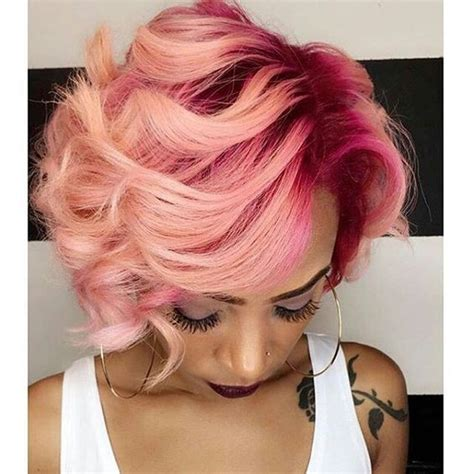 pin by peachy roots on pink pink to ombre hair pink