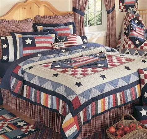 americana bedding old glory quilt and americana bedding