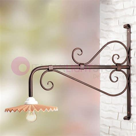 applique da esterno in ferro battuto lade da esterno a parete in ferro battuto