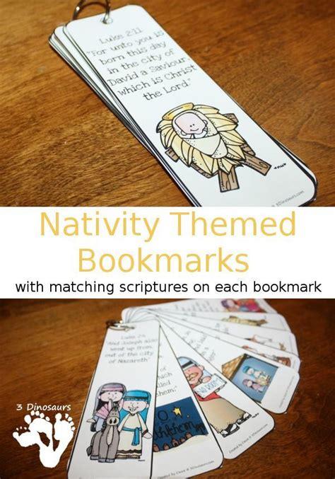 printable nativity bookmarks 219 best christmas worksheets printables for kids images