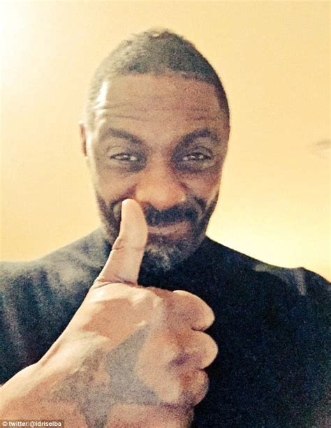 idris elba posts happy tweet at luther daily mail