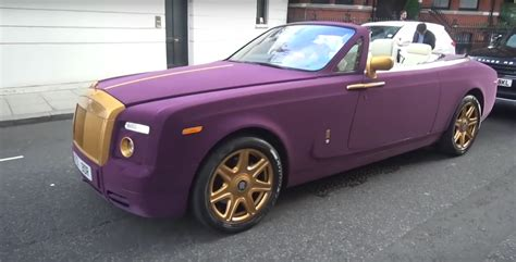 purple rolls royce surprisingly it s not a rapper driving this purple velvet