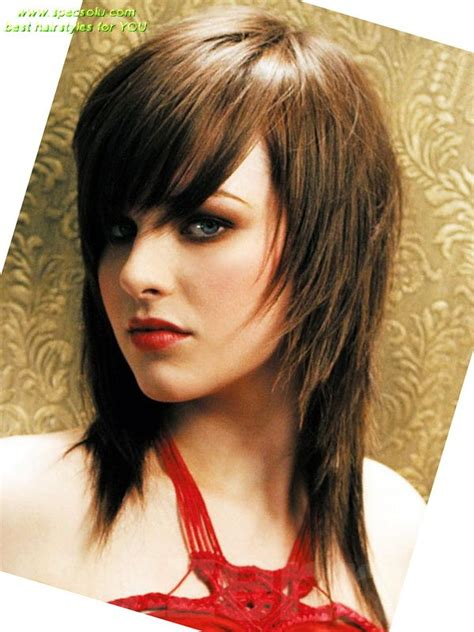 Emo Hairstyles For Oval Faces | 17 best images about hair on pinterest sleek hairstyles