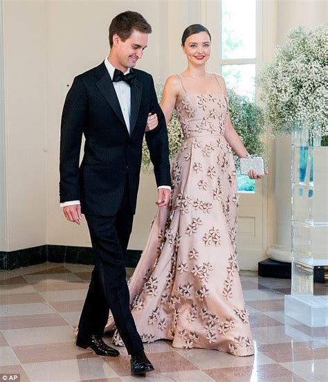 evan spiegel house miranda kerr is the epitome of elegance in a dazzling blush coloured gown as she joins