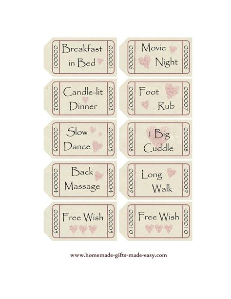 printable love coupon book template love coupon templates for the mr pinterest
