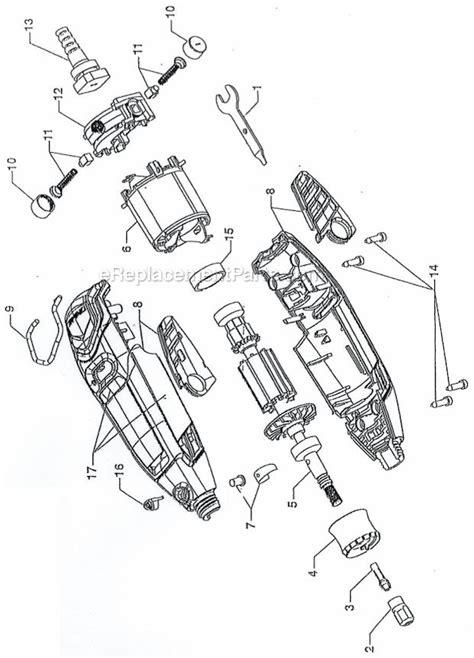 dremel  parts list  diagram ereplacementpartscom
