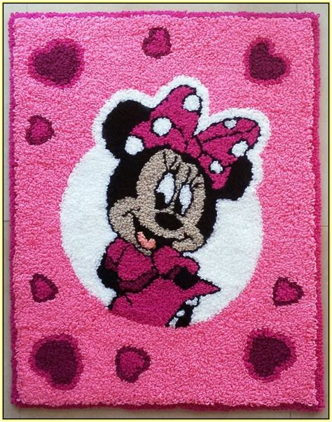 Minnie Mouse Rug Home Design Ideas Minnie Mouse Rugs For