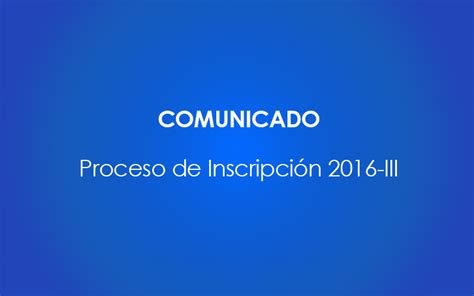 inscripcion ascenso de categoria 2016 comunicado proceso de inscripci 243 n 2016 iii yacamb 250