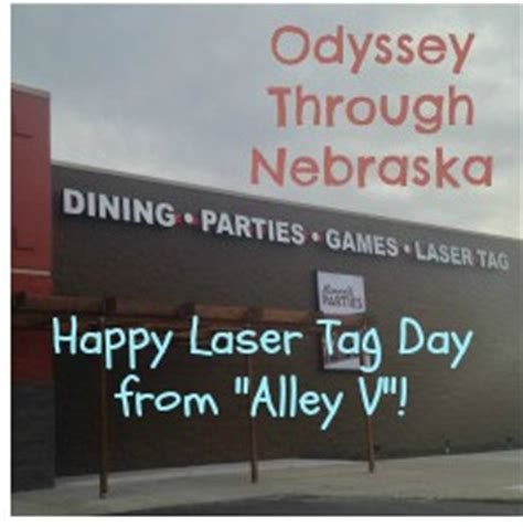 happy laser tag day and a giveaway from alley v odyssey