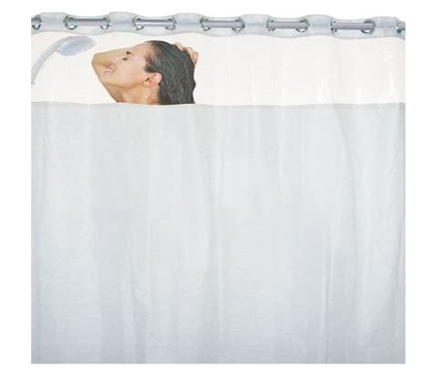 mesh pocket shower curtain clear top shower curtain with 8 mesh pockets cheap dorm
