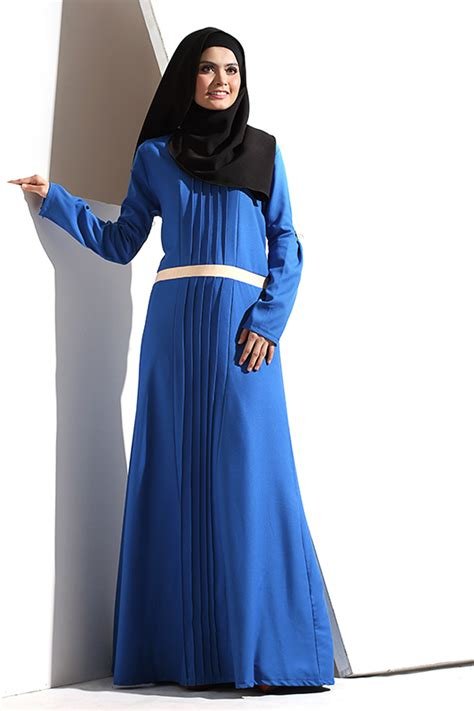 Khalila Dress by Khalila Pleated Jubah Pleated Design Modern Jubah Dress