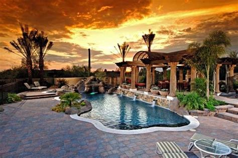 1000 ideas about tropical pool landscaping on