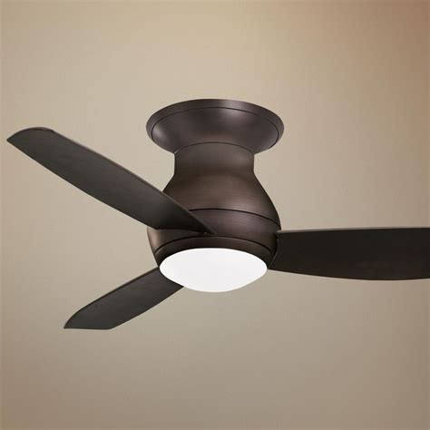Outdoor Hugger Ceiling Fans by 44 Quot Emerson Curva Sky Bronze Hugger Ceiling Fan