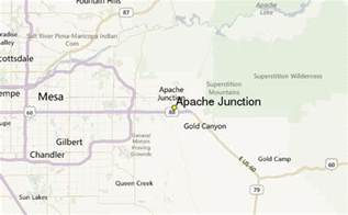 map of apache junction arizona apache junction weather station record historical