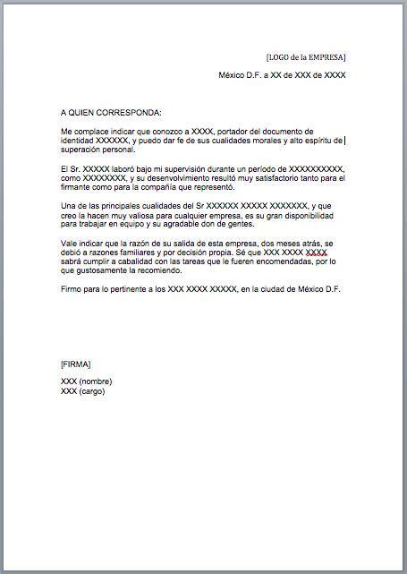 carta formal o comercial m 225 s de 25 ideas incre 237 bles sobre modelo de carta formal en