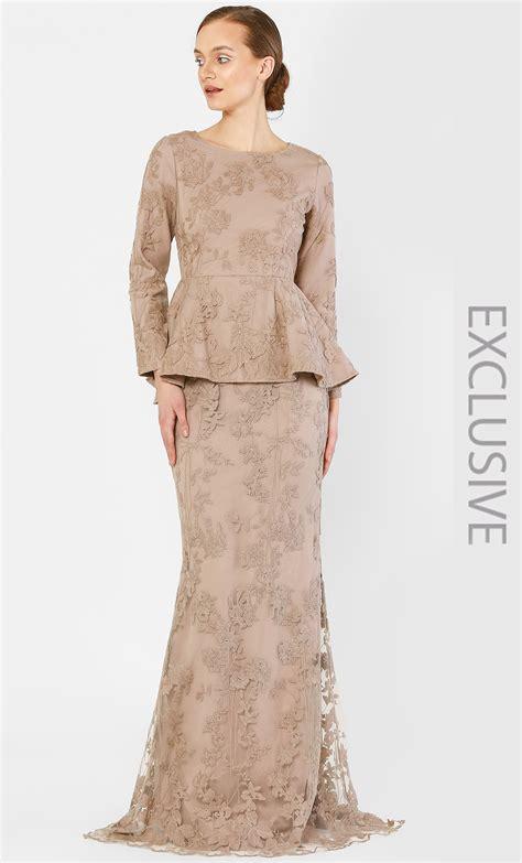 fesyen baju wanita dengan lace 17 design baju kurung pahang moden casual stylish fesyen