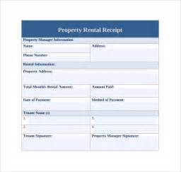 template property sle rent receipt template 20 free documents