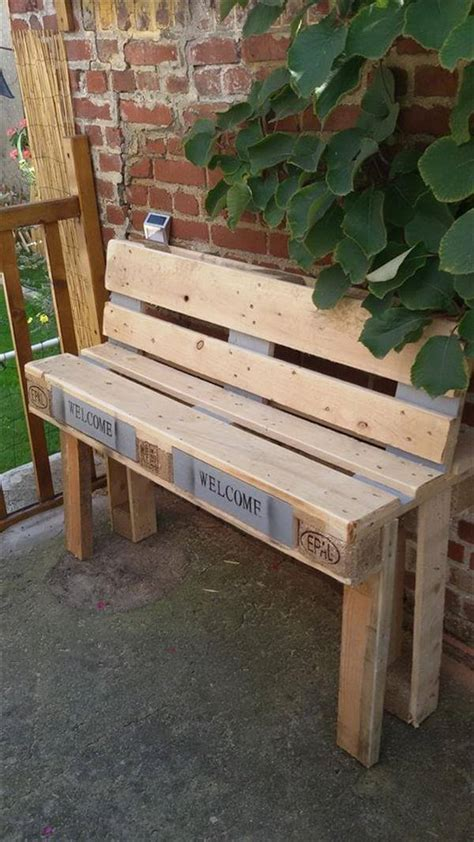 diy pallet outdoor rustic bench pallet furniture diy diy rustic pallet wood outdoor cooler 99 pallets
