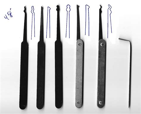 lock picking set template all
