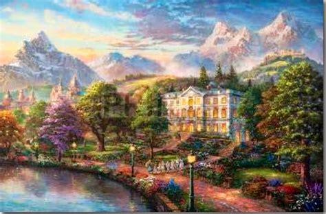 kinkade painter of light carol kauffman s vision and verse kinkade