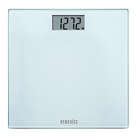 homedics bathroom scale homedics 174 glass digital bath scale in frosted white