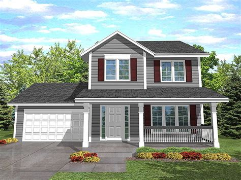 two story home plan 016h 0003 find unique house plans home plans and