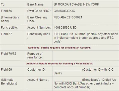 bank transfer details banking do we need to provide correspondent bank