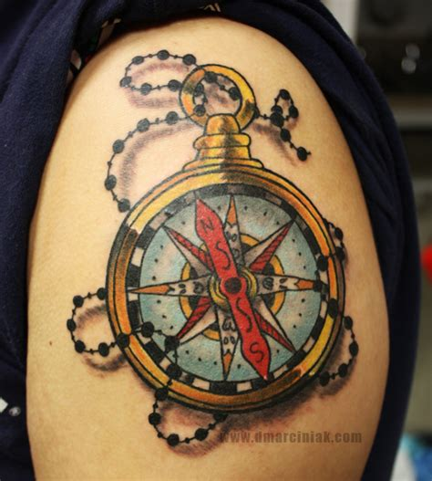 compass tattoo prints compass tattoo by dmillustration on deviantart