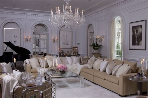 Glamorous Homes Interiors | old hollywood glamour decor homesfeed