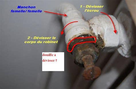 probleme robinet thermostatique remplacer robinet radiateur classique par thermostatique