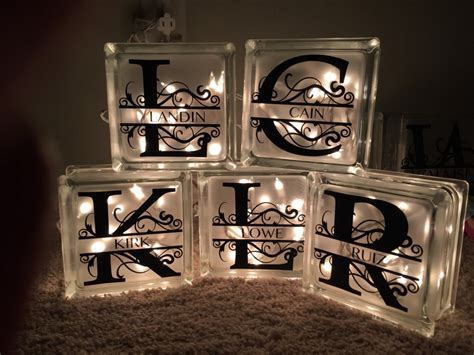 glass block lights diy decorative glass blocks diy and crafting
