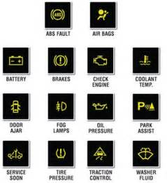 warning lights what do they