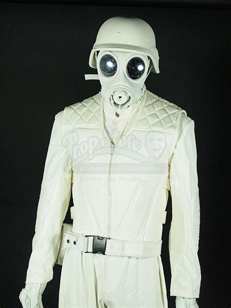 White Gas Mask Ultraviolet Costume by White Gas Mask Trooper Costume Prop Store Ultimate