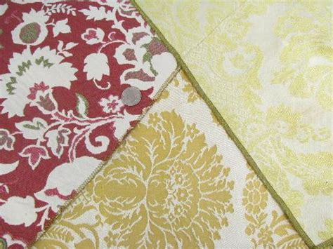 60s upholstery fabric lot 50s 60s vintage upholstery fabric sles florals