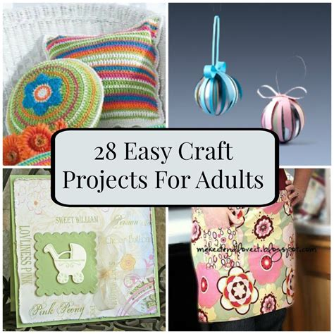Simple Paper Craft Ideas For Adults - 28 easy craft projects for adults favecrafts