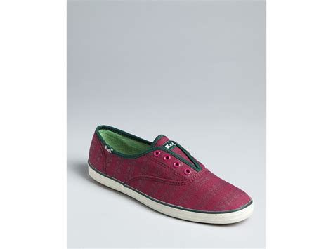 keds slip on sneakers keds slip on sneakers chion floral print in purple