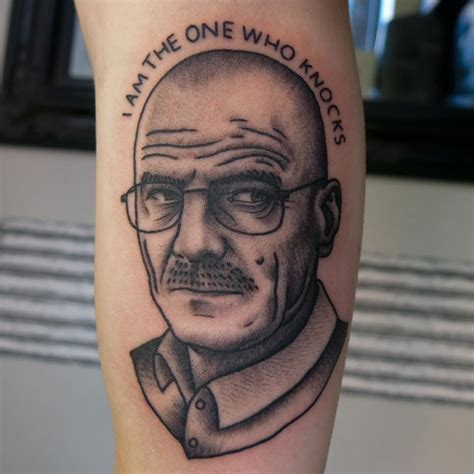 walter white tattoo 14 totally creepy breaking bad tattoos flavorwire