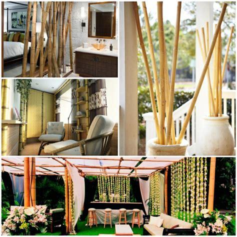traditionelle weihnachtsbaum dekorieren ideen bambus deko zimmer dekorieren bambusstangen bambus