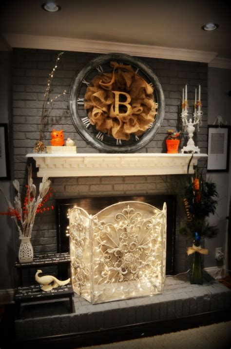 decor fireplace brick fireplace decor on cleaning brick
