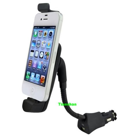 iphone 5s car mount and charger car cigarette lighter mount holder charger for ipod touch
