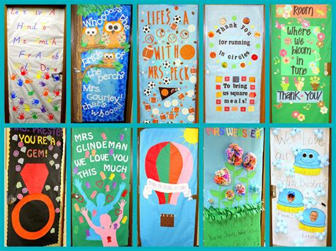 Appreciation Door Decorations by Crafty Appreciation Door Decorations 2013