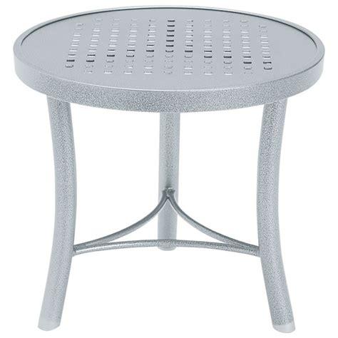 20 inch round table tropitone 720282sb boulevard tables 20 inch round tea