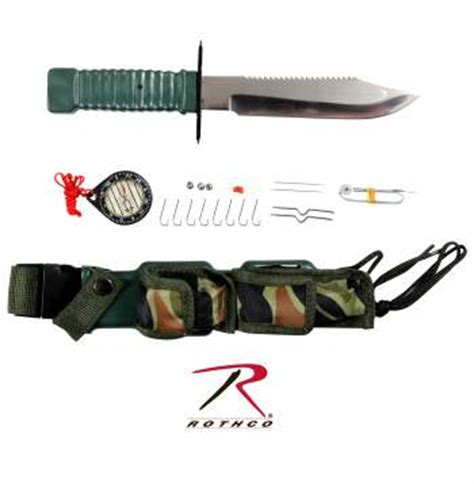 special forces survival rothco special forces survival kit knife
