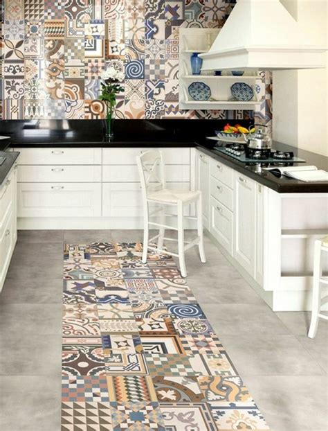 Wall Tile For Kitchen Backsplash by Comment Adopter Le Carrelage Patchwork 224 Son Int 233 Rieur