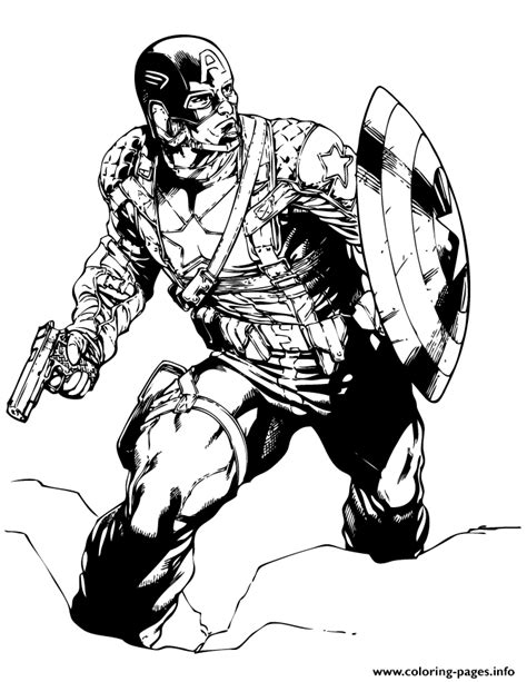 the punisher coloring book for adults books captain america classic marvel comic coloring page